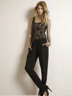 MASK PANT TB, Black, main #VILAClothes #VILA #Clothes #Fashion #Style #Beauty #Basic #Pants