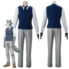 Japanese Anime Beastars Cosplay Costume Cherryton High School Boys Louis Legosi Uniform Outfit Halloween Costume Couples Cosplay, Cosplay Diy, Cosplay Costumes, Cosplay Style, Cosplay Ideas, School Boy, High School, Halloween Outfits, Halloween Costumes