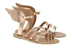 Ancient Greek Sandals | Ikaria | Yes, they are ridiculous but I love them. Lots of different colors available.