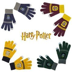Gants E-Touch Harry Potter Mode Geek, Gadgets, Harry Potter, Gloves, Geek Stuff, Touch, Quirky Gifts, Glove, Geek Things