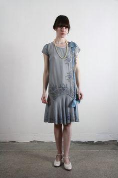 2019 Casual Fashion Trends For Women - Fashion Trends 20s Fashion, Art Deco Fashion, High Fashion, Vintage Fashion, Fashion Outfits, 1920 Style, Haute Couture Style, Vintage Outfits, Vintage Dresses