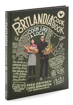 The Portlandia Cookbook. Tired of muffins that taste like sand? #multi #modcloth