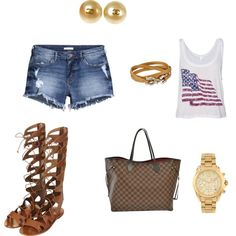 Untitled #5 by styletinibeautybar on Polyvore featuring polyvore fashion style H&M Topshop Louis Vuitton Chanel Michael Kors Salvatore Ferragamo
