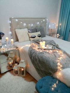 Dek Marriage Girl, Glam Bedding, Dreams Beds, Tumblr Rooms, Bedroom Styles, Bedroom Ideas, Glam Room, Room Goals, Family Pictures