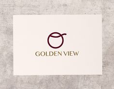 """Check out new work on my @Behance portfolio: """"Brand Identity """"Golden View"""" Firenze"""" http://be.net/gallery/53502467/Brand-Identity-Golden-View-Firenze"""