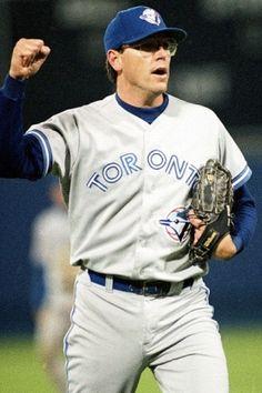 Tom Henke, The Terminator, the longtime Blue Jays closer who led the American League in . Blue Jay Way, Go Blue, Sports Baseball, Baseball Players, Baseball Stuff, Mlb Teams, Sports Teams, American League, Toronto Blue Jays