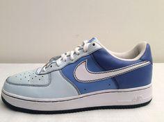 NIKE AIR FORCE 1 BLUE GLACIER PHILADELPHIA EDITION 315115 412 SIZE 11.5 RARE #Nike #FashionSneakers