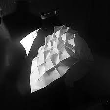 #parametricfashion #codestructedskin #parametricdesign #fashionarchitecture #maryamdastmalchian #kinetic