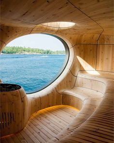 What do you think about this sauna? Grotto Sauna Designed by Partisans Located in Georgian Bay, Canada Home Design, Best Interior Design, Interior Design Inspiration, Interior Decorating, Blog Inspiration, Design Interiors, Urban Design, Decorating Ideas, Decor Ideas