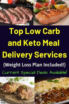 Best Meal Delivery Services For Low Cab Keto Diet - Meal Delivery Service - Ideas of Meal Delivery Service - Check Our Top Meal Delivery Services For Low Carb Diet and Keto Diet! Low Carb Meal Delivery, Meal Delivery Service, Healthy Food Delivery, Delivery Food, Keto Meal Plan, Diet Meal Plans, Biscotti, Best Keto Meals, Diet Recipes