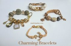 Charming Statement Bracelets! - Made in a Day