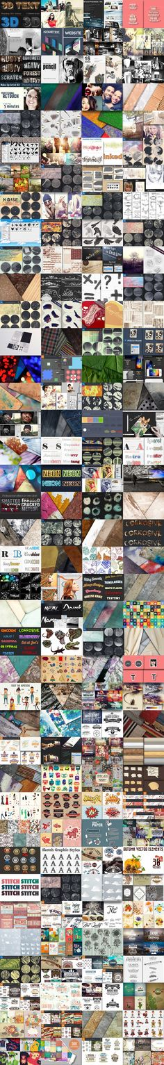 Buy 1 Get 1 Offer on The Mighty Design Bundle: Incredible Design Resources. Get ready to add some magic to your design projects Light Font, Concrete Texture, Blue Texture, Text Style, Create A Logo, Texture Painting, Design Bundles, Photoshop Actions, Design Elements