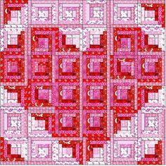 curved log cabin quilt pattern - Ask.com Image Search
