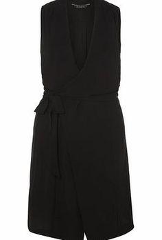 Dorothy Perkins Womens Black Drape Sleeveless Jacket- Black Black waterfall sleeveless jacket. 97% Polyester,3% Elastane. Machine washable. http://www.comparestoreprices.co.uk/womens-shoes/dorothy-perkins-womens-black-drape-sleeveless-jacket-black.asp