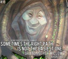 Grandmother Willow (Pocahontas) quote