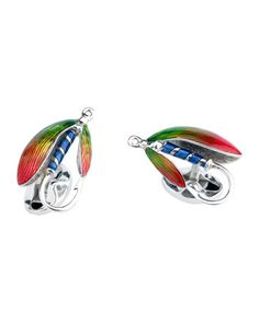 Fly Fishing Sterling Silver Cuff Links by Deakin & Francis at Neiman Marcus.