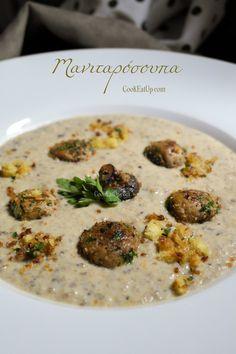 Μανιταρόσουπα και μία τεχνική που αξίζει να γνωρίζετε ⋆ Cook Eat Up! Cheeseburger Chowder, Risotto, Cooking, Ethnic Recipes, Soups, Kitchen, Soup, Brewing, Cuisine