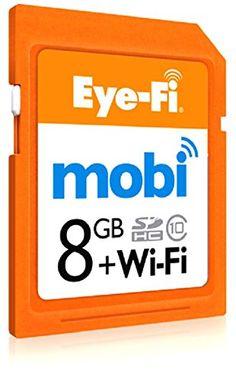 Eyefi Mobi 8GB SDHC Class 10 Wi-Fi Memory Card with 90-day Eyefi Cloud Service, Frustration Free Packaging (MOBI-8-FF)  http://www.lookatcamera.com/eyefi-mobi-8gb-sdhc-class-10-wi-fi-memory-card-with-90-day-eyefi-cloud-service-frustration-free-packaging-mobi-8-ff-2/