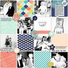 Layout using {A New Yesterday} Digital Scrapbook Kit by Amanda Yi Designs	 available at The Digital Press  http://shop.thedigitalpress.co/Amanda-Yi-Designs/ #amandayidesigns #thedigitalpress