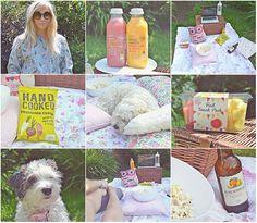 summer back garden picnic, date night