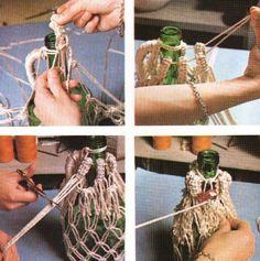 Usaremos hilo de algodón y. naturalmenie podemos emplear cualquiera de los nudos que mejor conozcamos, de forma que no compliquemos en exce...