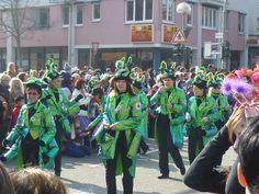 Swabian-Alemannic carnival parade in Wernau/Germany, 2011