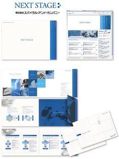 会計事務所の会社パンフレット+WEB+ロゴデザイン制作