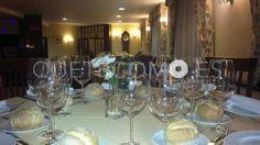 Comedor preparado para eventos | Restaurante para eventos Reconquista 7 Aero Club Vigo