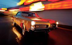 The amazing '67 Pontiac GTO. RIP Pontiac, these cars won't be forgotten.
