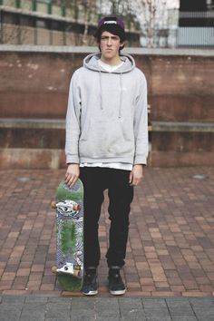 Best Casual Skater Style Ideas For Cool Men Skateboard Outfits, Skateboard Fashion, Skater Look, Kids Fashion, Fashion Outfits, Skate Fashion, Fashion Men, Street Fashion, Skate Style