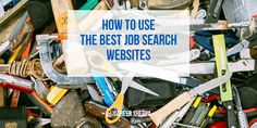 How To Use Job Search Websites