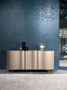 Lieblich Carpanelli Contemporary   CR62   Mistral High Sideboard In Pama