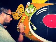 Grafite no Capela Club, Bauru/SP/Brasil