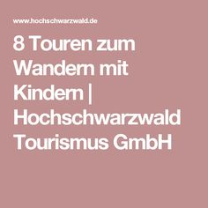 8 Touren zum Wandern mit Kindern | Hochschwarzwald Tourismus GmbH