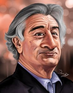 Image result for robert de niro cartoons