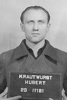 Hubert Krautwurst –  commandant of the nursery and the sewage treatment plant.  Executed Nov 26 1948