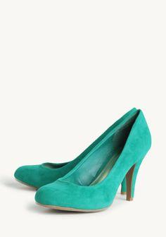 Lucianna Pumps In Emerald