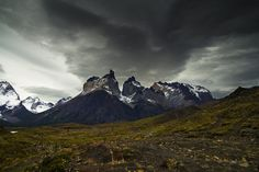 Stormy Torres del Paine