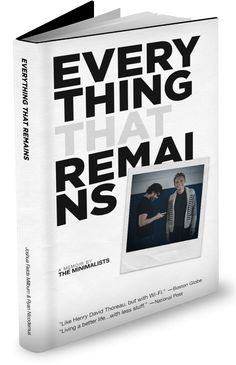 One year ago this month, we published Everything That Remains. Thanks to y'all, the book became a bestseller and is now available in half-a-dozen languages.  You'll be happy to hear that the majority of the book's proceeds have been used to: 1) invest in other people, 2) propagate our simple-living credo, and 3) contribute to a handful of nonprofits and causes we believe in.  Together we can make significant improvements to the world around us by consuming less and contributing more.