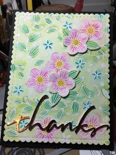 Flowers, Flowers by idelapuente - Cards and Paper Crafts at Splitcoaststampers