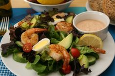 The Simple Skillet   Shrimp Louis Salad