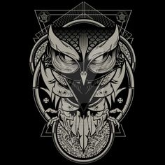Alchemy Owl by Design-By-Humans.deviantart.com on @DeviantArt