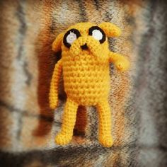 Jake the Dog pattern. I promised this so ill follow through. Ok so here's the thing… I'm a messy crocheter so this was kind of a stash busti...