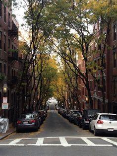 Beacon Hill. Boston, Massachusetts