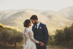 1950s Style Southern Italian Wedding at the Family's Estate | Junebug Weddings