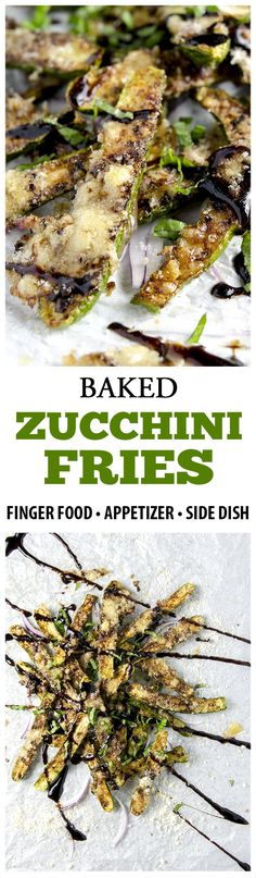 Making zucchini fries is easy, delicious and addicting! These healthy little bites of joy are a perfect side dish or appetizer for your next gathering. | I'd Rather Be a Chef