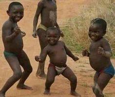 Smiling children Africa