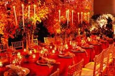 Image result for fall wedding table setting ideas