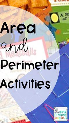 Area and Perimeter Activities | Upper Elementary Snapshots Interactive Math Journals, Interactive Activities, Math Activities, Math Games, Math Notebooks, Third Grade Math, Fourth Grade, Grade 3, Maths Area