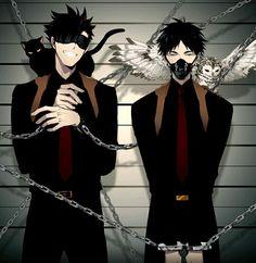 Kuroo and Akaashi